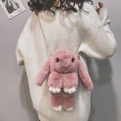 Hampa - Furry Rabbit Crossbody Bag