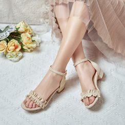 Shoes Galore - Block-Heel Sandals