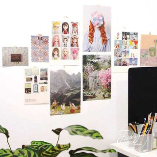 Oknana Home - Printed Card Photography Props