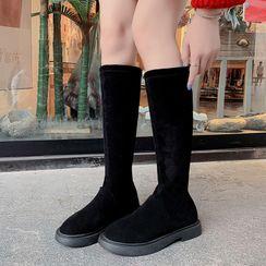 Aneka - 纯色高身靴