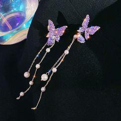 DREN - Butterfly Dangle Earring