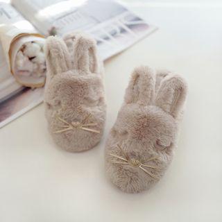 BEANS - Fluffy Rabbit Home Slippers