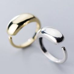 A'ROCH - Polished 925 Sterling Silver Open Ring
