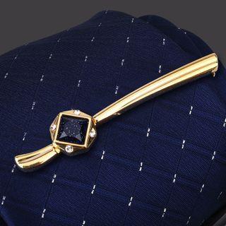 Seaton - 綴飾合金領帶夾