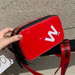 JAMEL - Lettering Crossbody Bag