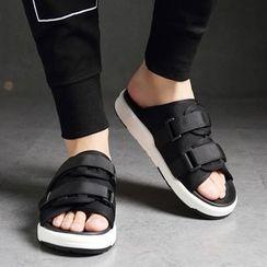 Snowpard - Fabric Adhesive Strap Sandals