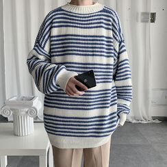 Wescosso - Striped Knit Top