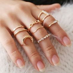 Cheermo - Set of 11: Alloy Ring (various designs)