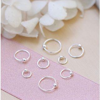 Zatanna - 金屬珠迷你圈環耳環