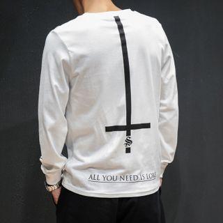 KOKAY - Cross Print Pullover