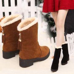 Aneka - Mid-Calf Snow Boots