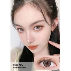 i - DOL - Roze Airy Monthly Color Lens #Nude Brown