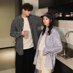 HANEN - Couple-Matching Striped Shirt
