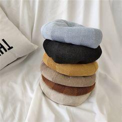 INKLEE - Linen Cotton Beret Hat