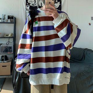 YERGO - 条纹宽松套衫