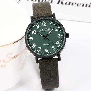 Epoca - Faux Leather Strap Watch Box Set