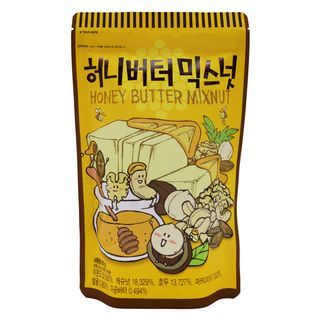 Tom's Farm - Dry Roasted Honey Butter Mixnut 220g