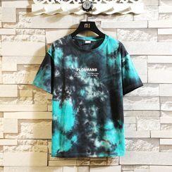 Sheck - Short-Sleeve Tie Dye T-Shirt
