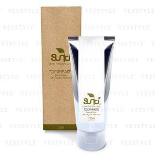 Sunki - Fluoride Free Toothpaste with Organic Aloe Leaf