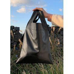JOGUNSHOP - Faux-Leather Shopper Bag