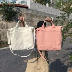 OUCHA - Canvas Shoulder Tote Bag