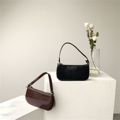 Minafox - Croc Grain Hand Bag