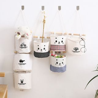 Showroom - Printed Fabric Hanging Organizer