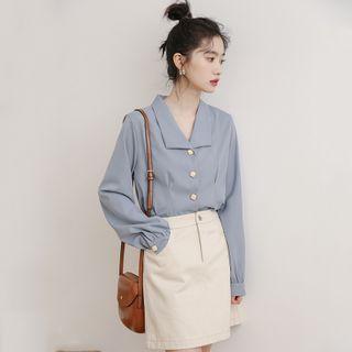 Luminato - Plain Chiffon Shirt