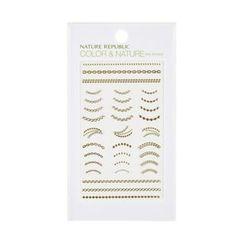 NATURE REPUBLIC(ネイチャーリパブリック) - Color & Nature Nail Sticker (#04 Jewel Chain)