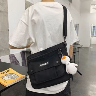 Gokk - Nylon Zip Crossbody Bag