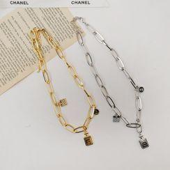 DEEPNY - Pendant Bold-Chain Necklace