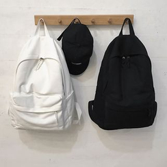 Glorieta - Plain Canvas Backpack