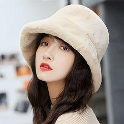 Parafae - Plain Chenille Bucket Hat