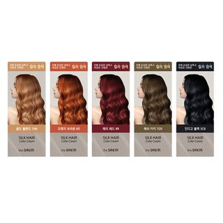 The Saem - Silk Hair Color Cream - 5 Colors
