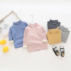 Dolphin Dream - Kids Striped Long-Sleeve T-Shirt