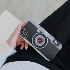 KeCase - Camera Print Phone Case - iPhone 12 Pro Max / 12 Pro / 12 / 12 mini / 11 Pro Max / 11 Pro / 11 / SE / XS Max / XS / XR / X / SE 2 / 8 / 8 Plus / 7 / 7 Plus