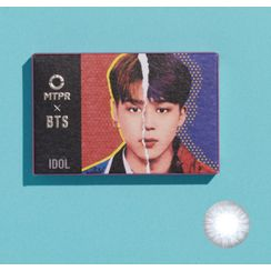MTPR - BTS IDOL Monthly Color Lens #My Self Blue