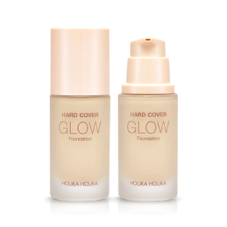 HOLIKA HOLIKA - Hard Cover Glow Foundation SPF20 PA ++ (6 colores)