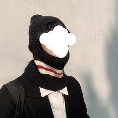 HATHOT - 毛毛球無邊帽