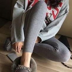 Puntino - Ribbed Leggings