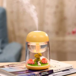 Cloud Forest - Humidificateur prise USB en forme de lapin