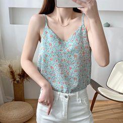 Donnae - Floral Print Camisole Top