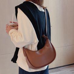 Fabbagaster - Genuine Leather Crossbody Hobo Bag