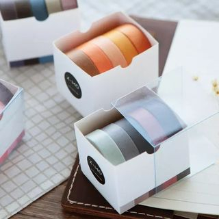 Milena - Set of 5: Plain Masking Tape