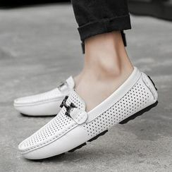 MARTUCCI - Perforated Moccasins