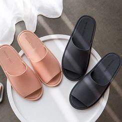 Aisifin - 情侶款純色拖鞋