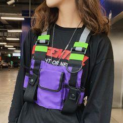SUNMAN - 轻型挂胸包