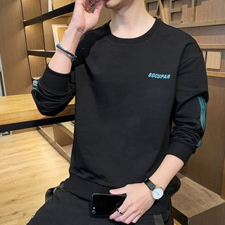 Sheck - Striped Detail Sweatshirt