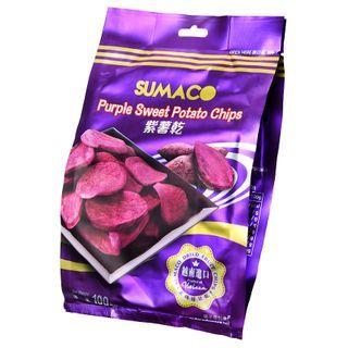 Three O'Clock - Vietnam Sumaco Dried Fruit Purple Sweet Potato Chips 100g