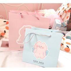 Jigsal - Pig Print Paper Gift Bag